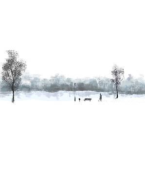 Winter walk by Agata Szargot