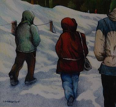 Winter Walk by Catherine Robertson
