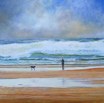Winter Walk by John Tregembo