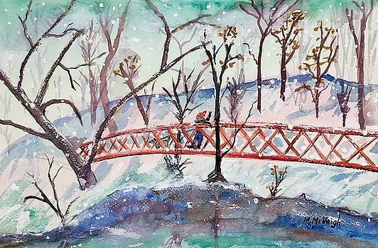 Winter Walk by Marita McVeigh