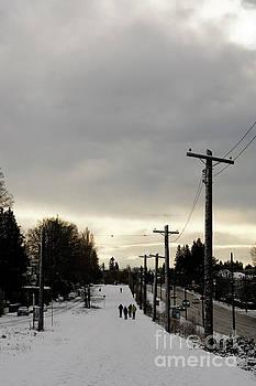 Winter Walk Vancouver by John  Mitchell