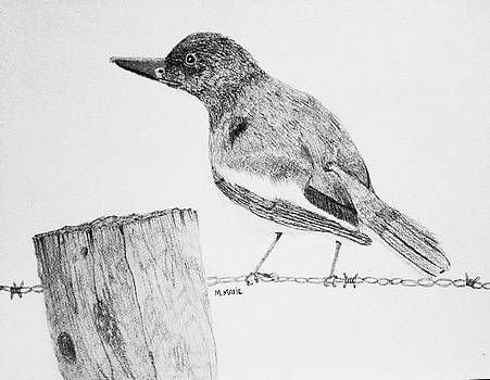 Winter watch by M Marie Art