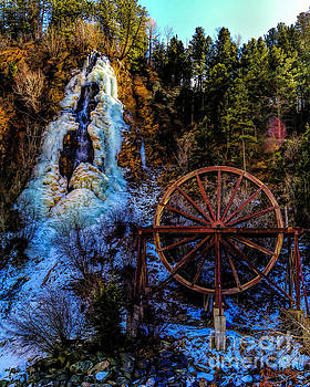 Jon Burch Photography - Winter Water Wheel