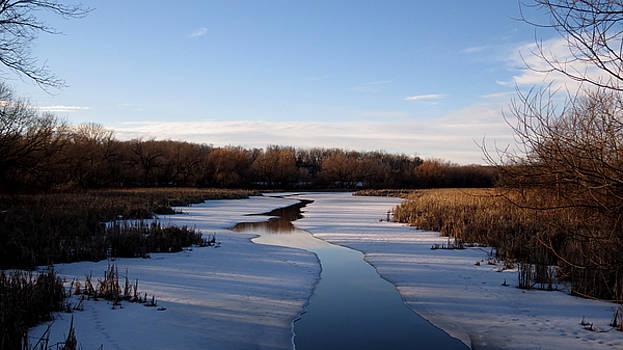 Winter Waters at Lake Kegonsa by Kimberly Mackowski