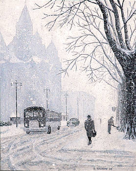 Winter Weekday by Dave Rheaume