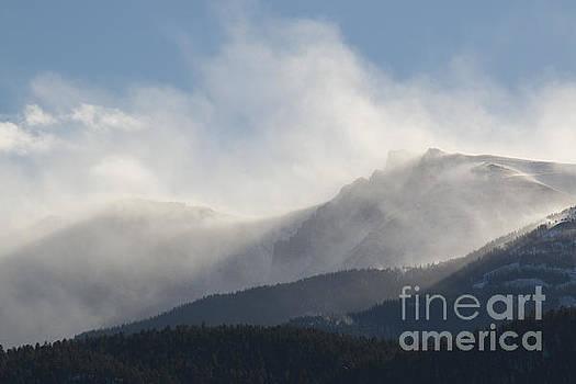Steve Krull - Winter Wind on Pikes Peak Colorado