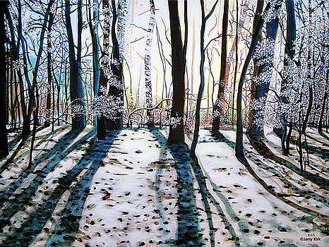 Winter Woods by Jerry Kirk