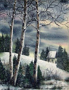 Winter Woods by Linda Hiller