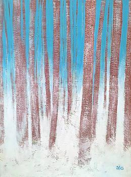 Winter woods by Wonju Hulse