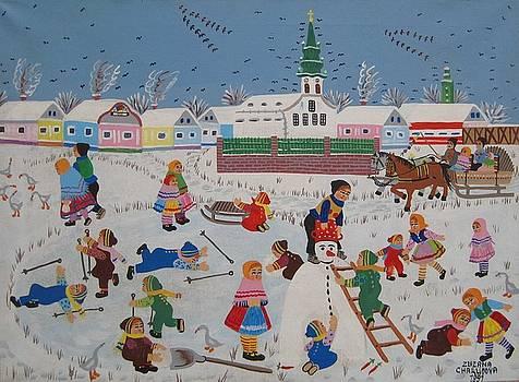Winter by Zuzana Chalupova