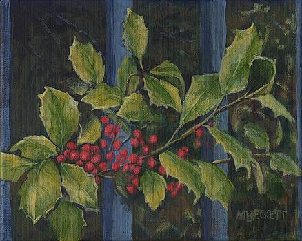 Winterberries by Michael Beckett