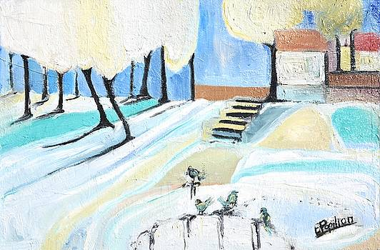 Winterland by Evelina Popilian