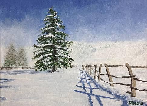 Winter's Beauty by Cynthia Morgan