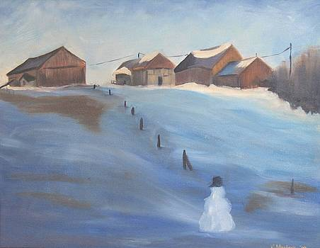 Winters Day by Karen Masters