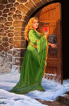 Winter's Last Rose by Pat Lewis