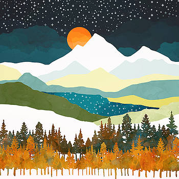 Winters Night by Spacefrog Designs