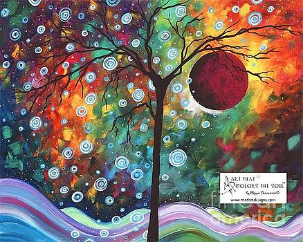 Winters Return Limited Edition Prints and Original Abstract Landscape Painting by Megan Duncanson by Megan Duncanson