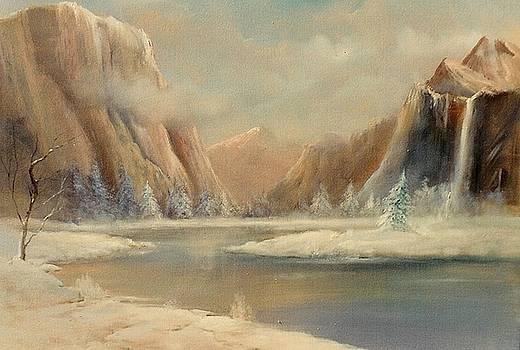 Winterscape by Sally Seago
