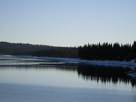 Wintertime Reflections 2 by Susanne Awbrey