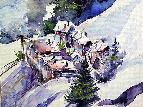 Wintertime village cd by Kovacs Anna Brigitta