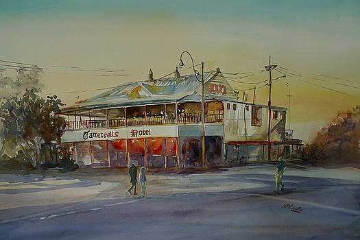 Winton Pub Australia by Shirley Roma Charlton