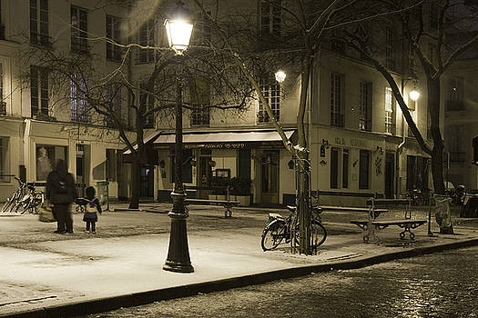Wintry Paris by Arabesque Saraswathi