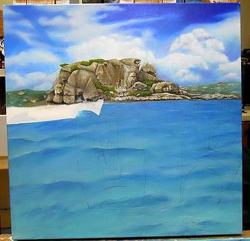 WIP- Creole Rock 02 by Cindy D Chinn