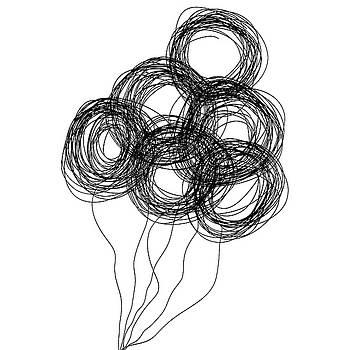 Bill Owen - wire balloons