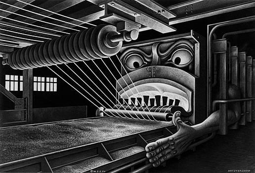Wire Hell Fire by Boris Artzybasheff
