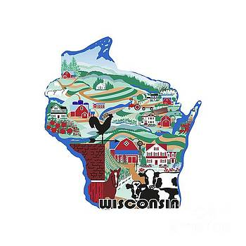 Wisconsin Country Sampler by R V James