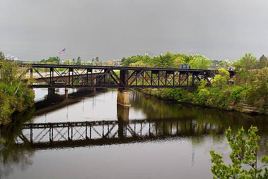 WIsconsin Dells Train Tressel by TommyJohn PhotoImagery LLC