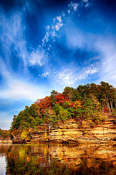 Wisconsin River by Bill Frische