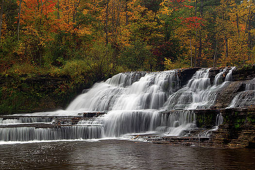 Wiscoy Falls 1 by Timothy McIntyre