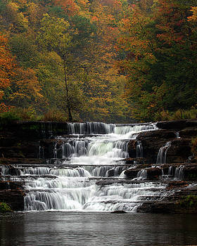 Wiscoy Falls 2 by Timothy McIntyre
