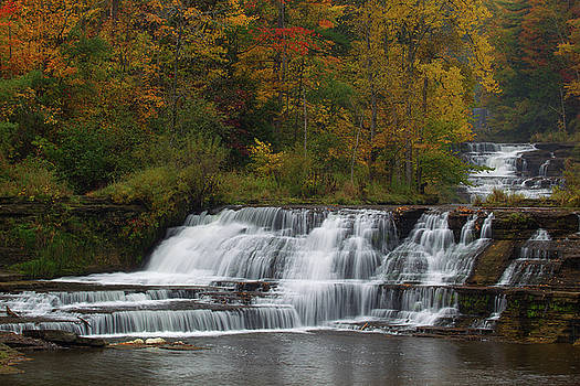 Wiscoy Falls 3 by Timothy McIntyre
