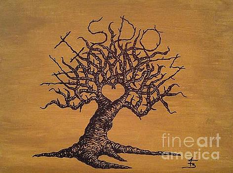Wisdom Love Tree by Aaron Bombalicki