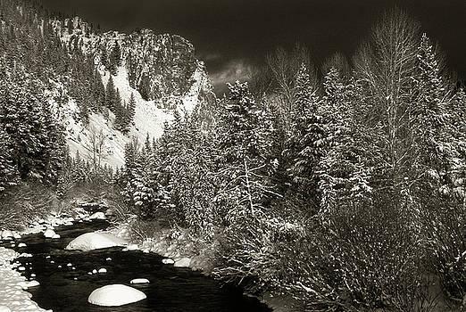 Wise River in Winter by Scott Wheeler
