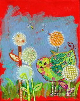 Wishful Thinking Birdy by Shelley Overton