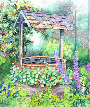 Wishing Well. by Val Stokes