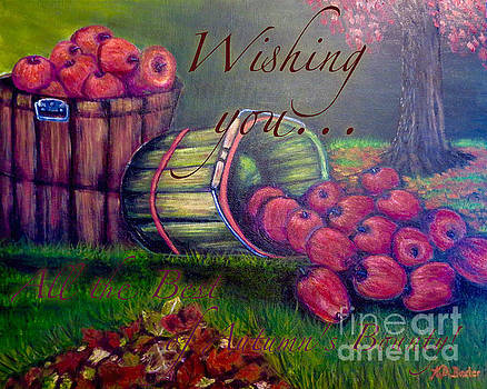 Wishing You All the Best of Autumn's Bounty by Kimberlee Baxter