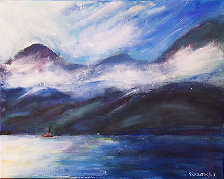 Wispy Clouds by Yulia Kazansky