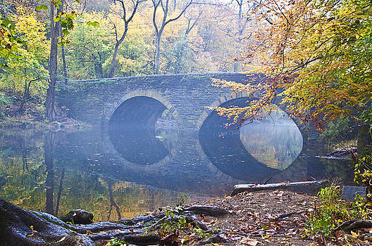 Wissahickon Creek at Bells Mill Rd. by Bill Cannon