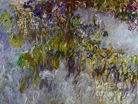 Monet - Wisteria-Left Half 1919