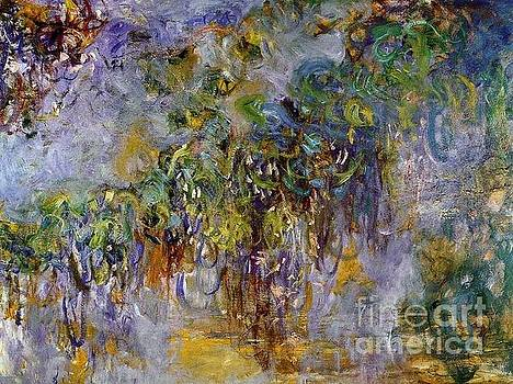 Monet - Wisteria-Right Half 1920