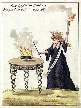 Witch, 1057 by Unknown