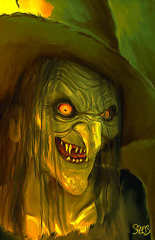 Witch Hag Mark Spears Monsters by Mark Spears