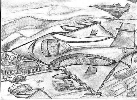 Witchcraft Federation Jet Fighters - Sierra Leone by Mudiama Kammoh