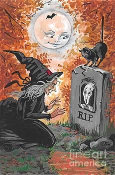 Witchcraft by Margaryta Yermolayeva