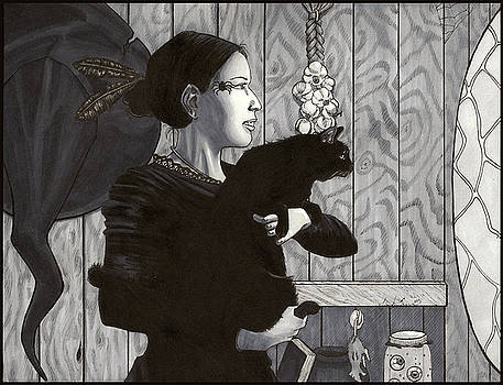 Witch's Mirror by Jennifer Evans