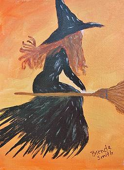 Witch's Party Gown by Brenda L Smith